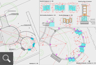 452 | Ausführungsplan zur Herstellung der Urnenplätze